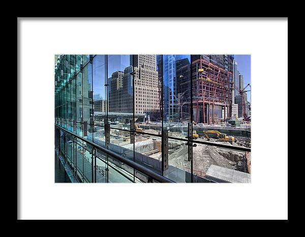 Ground Zero Framed Print featuring the photograph Ground Zero From World Financial Center by Robert Ullmann