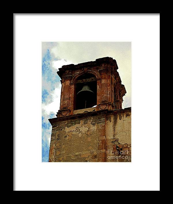 Darian Day Framed Print featuring the photograph Guanajuato Bell Tower by Mexicolors Art Photography