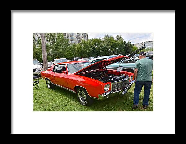 Ribfest Framed Print featuring the photograph Guelph795 by Sergei Dratchev