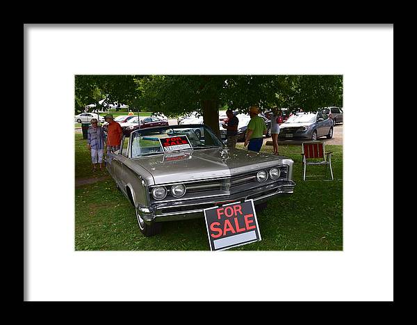 Cars Framed Print featuring the photograph Guelph798 by Sergei Dratchev