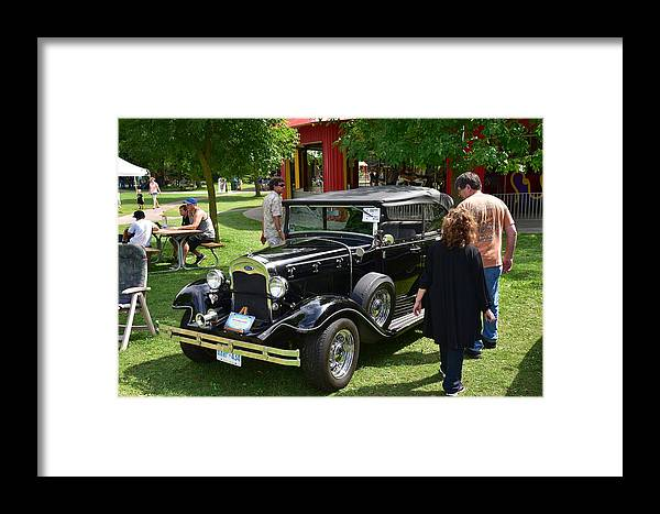 Cars Framed Print featuring the photograph Guelph802 by Sergei Dratchev