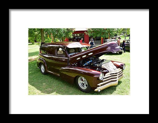 Cars Framed Print featuring the photograph Guelph803 by Sergei Dratchev