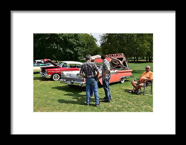 Cars Framed Print featuring the photograph Guelph815 by Sergei Dratchev