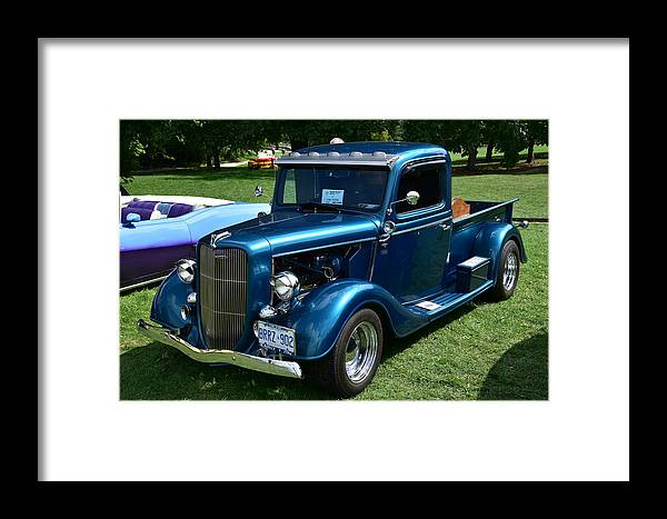 Cars Framed Print featuring the photograph Guelph817 by Sergei Dratchev