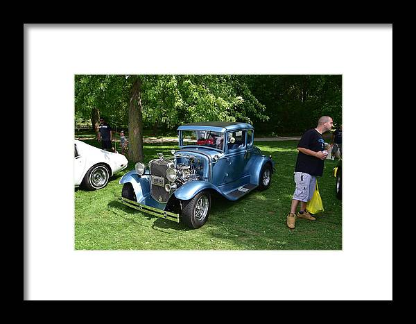 Cars Framed Print featuring the photograph Guelph822 by Sergei Dratchev