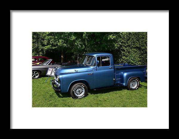 Cars Framed Print featuring the photograph Guelph833 by Sergei Dratchev
