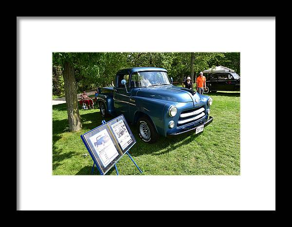 Cars Framed Print featuring the photograph Guelph834 by Sergei Dratchev