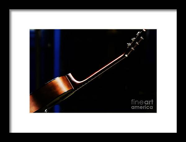 Guitar Framed Print featuring the photograph Guitar by Sheila Smart Fine Art Photography