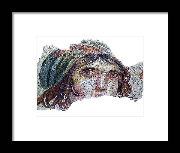 Turkey Framed Print featuring the photograph Gypsy Girl Of Zeugma by Dennis Cox