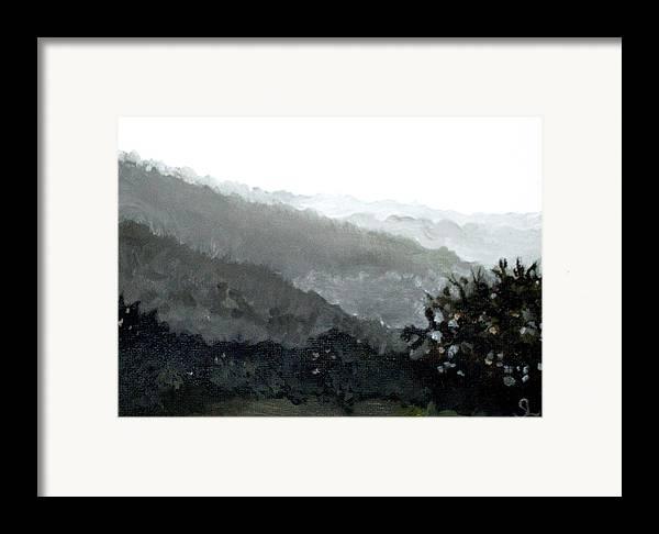 Puerto Rico Framed Print featuring the painting Hacienda Lamberti by Sarah Lynch