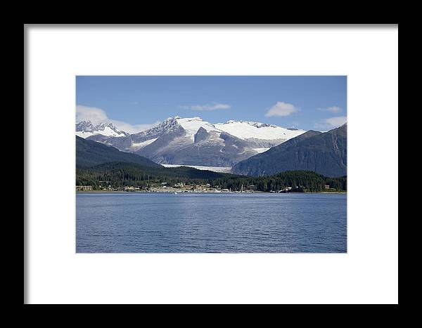 Haines Framed Print featuring the photograph Haines Harbor by Richard J Cassato