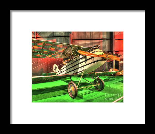Nose Framed Print featuring the photograph Halberstadt Cl Iv by Greg Hager