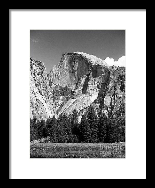 Yosemite Framed Print featuring the photograph Half Dome by Ron Sadlier