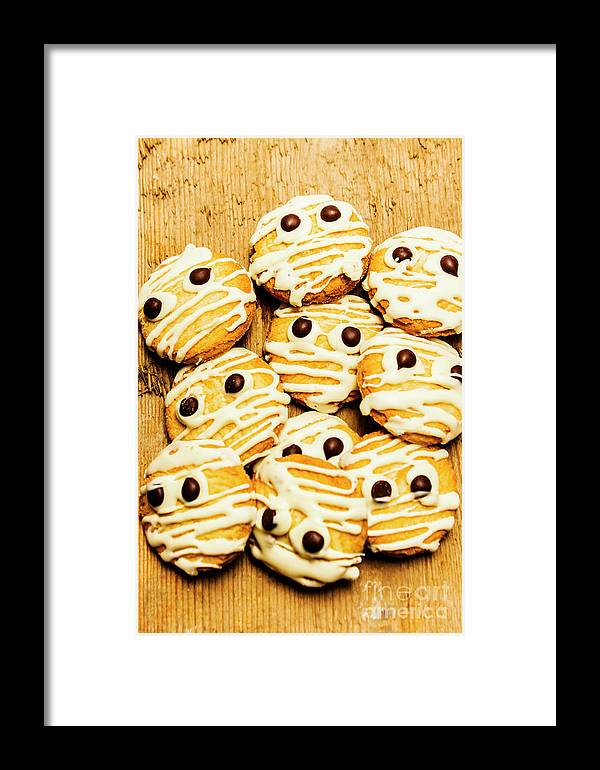 Scared Framed Print featuring the photograph Halloween Baking Treats by Jorgo Photography - Wall Art Gallery