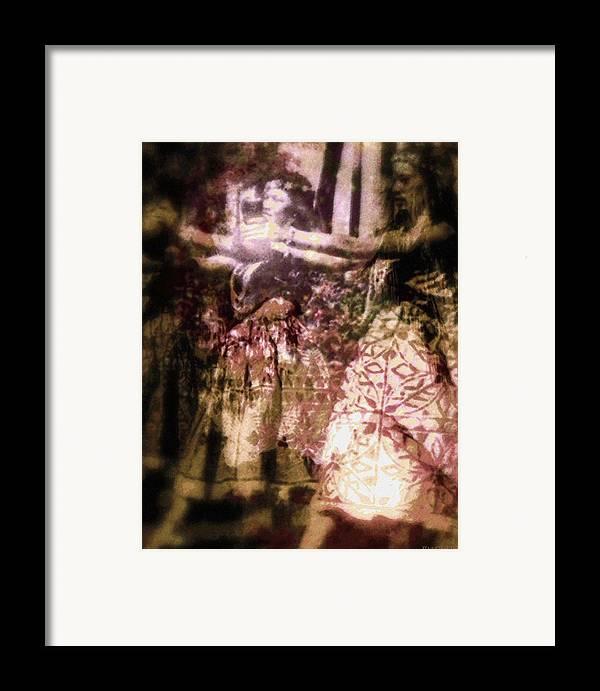 Rainbow Colors Digital Framed Print featuring the photograph Hana Aloha by Kenneth Grzesik