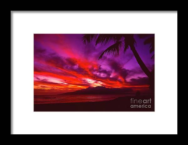 Landscapes Framed Print featuring the photograph Hand of Fire by Jim Cazel