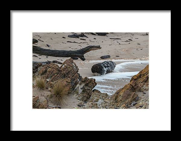 Tasmania Australia Framed Print featuring the photograph Hand Of Nature by Mark Christian