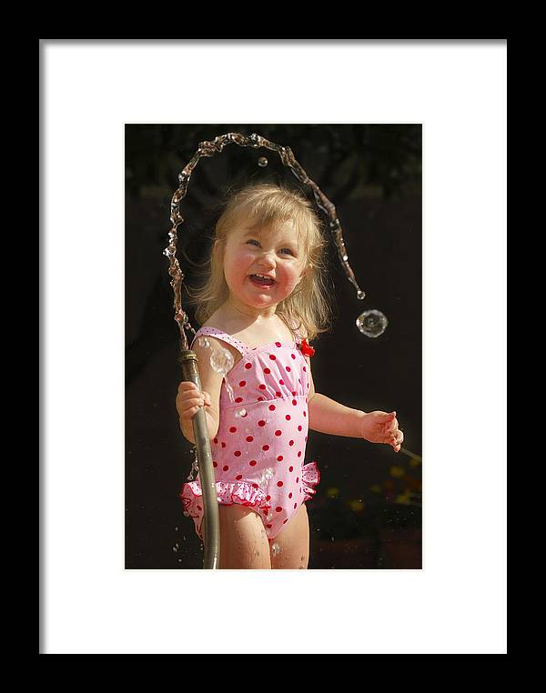Happy Contest Framed Print featuring the photograph Happy Contest 2 by Jill Reger