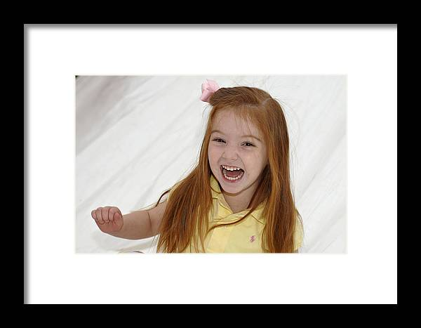 Happy Contest Framed Print featuring the photograph Happy Contest 6 by Jill Reger