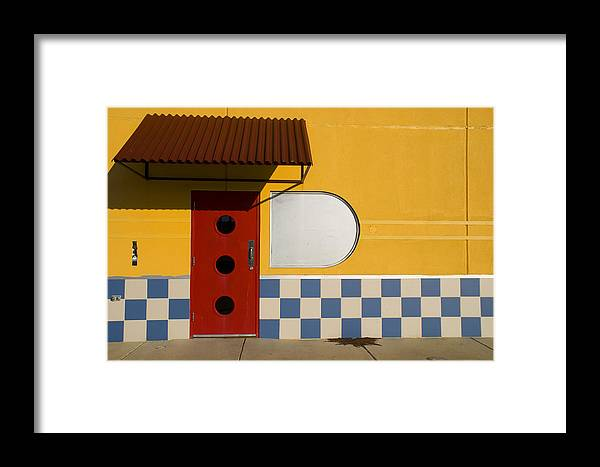 Architecture Framed Print featuring the photograph Happy Days by Skip Hunt