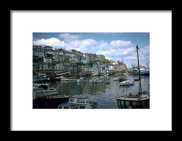 Great Britain Framed Print featuring the photograph Harbor by Flavia Westerwelle