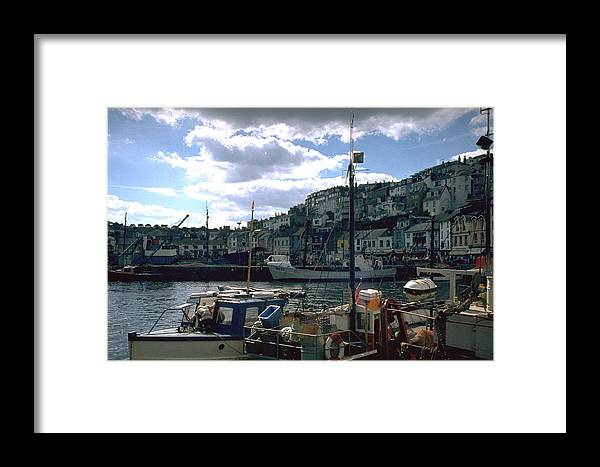 Great Britain Framed Print featuring the photograph Harbor II by Flavia Westerwelle