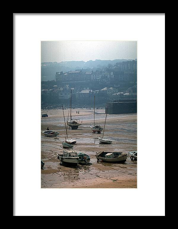 Great Britain Framed Print featuring the photograph Harbor IIi by Flavia Westerwelle