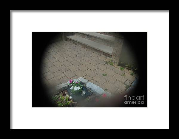Abstract Framed Print featuring the photograph Hard And Soft by Alwyn Glasgow