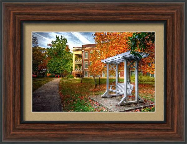 Harding University Swing by Rod Cuellar