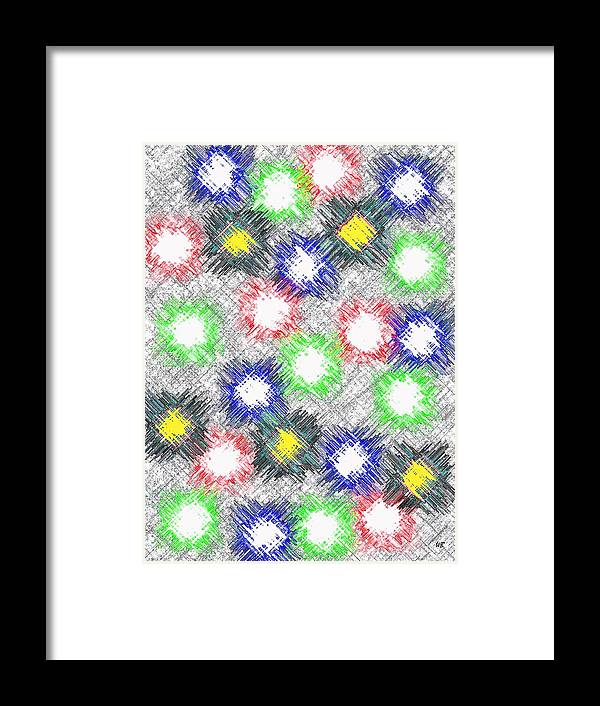 Abstract Framed Print featuring the digital art Harmony 32 by Will Borden