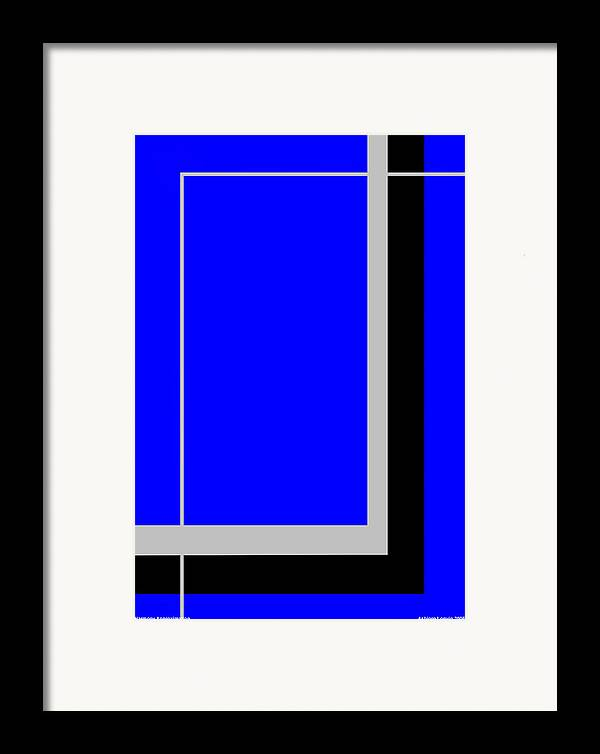 Harmony Approximation Framed Print featuring the digital art Harmony Approximation by Asbjorn Lonvig