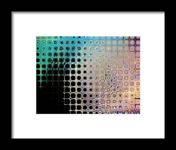 Abstract Framed Print featuring the print Harmony by Lorenzo Roberts
