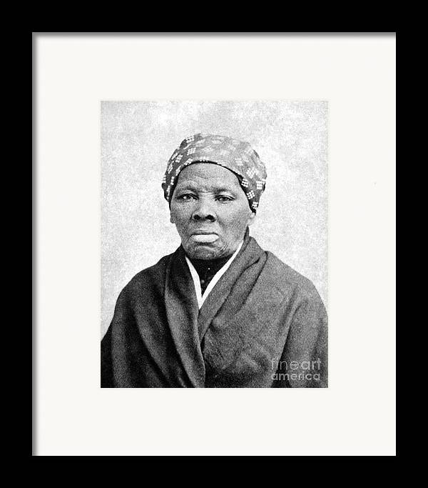 1895 Framed Print featuring the photograph Harriet Tubman (1823-1913) by Granger