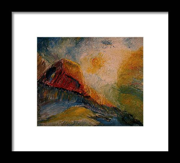 Rede Framed Print featuring the painting Harvast by Jack Diamond