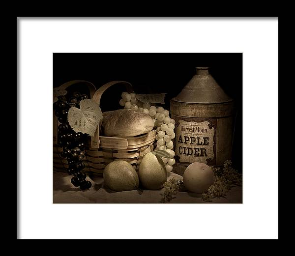 Apple Framed Print featuring the photograph Harvest Moon by Tom Mc Nemar