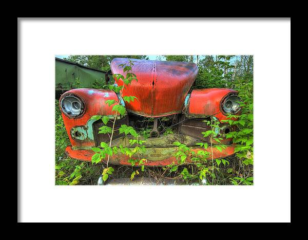 Junk Framed Print featuring the photograph Has-been Bess by Glenn Baja