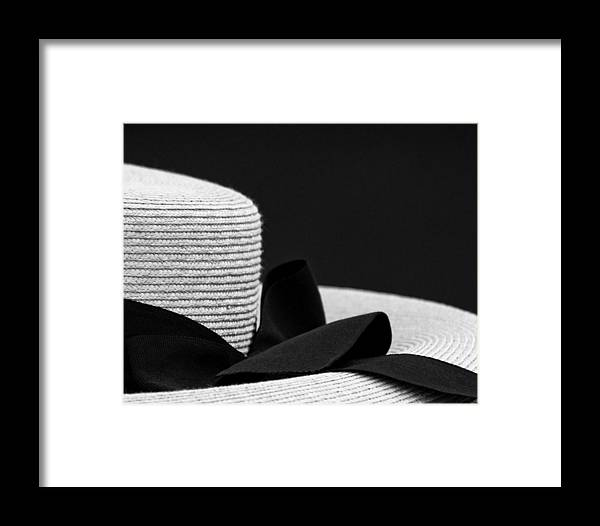 Photograph Framed Print featuring the photograph Hat by John Hermann