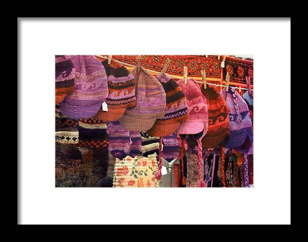 Hats Framed Print featuring the mixed media Hats by Bob Senesac