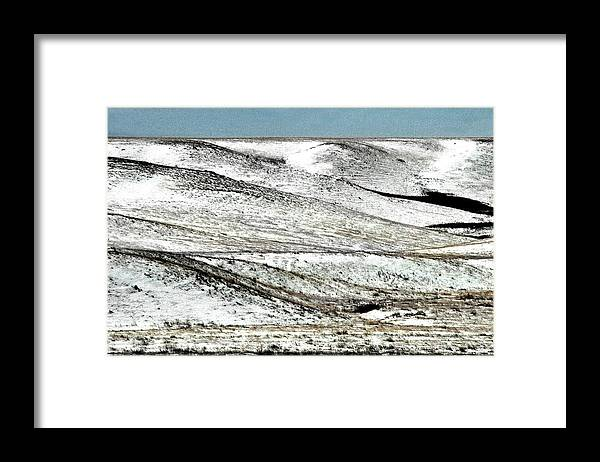 Hills Framed Print featuring the photograph Hatton Hills by Darcy Dietrich