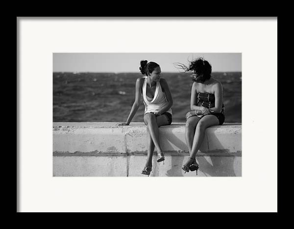 Havana Framed Print featuring the photograph Havana Beauties by Peter Verdnik