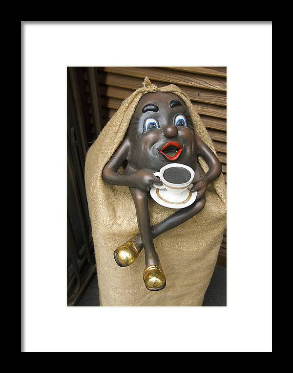 Statuette Framed Print featuring the photograph Have A Cup by Charles Ridgway
