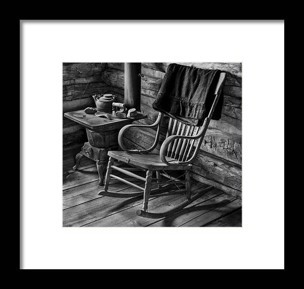 Chair Framed Print featuring the photograph Have A Seat by Raymond J Deuso