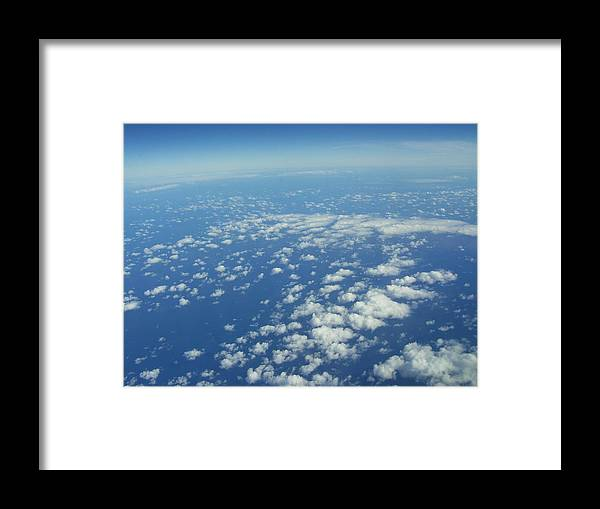 Clouds Framed Print featuring the photograph Hawai'i Clouds by Kristen Hurley