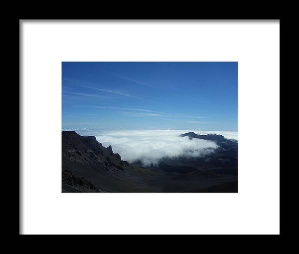 Hawai'i Framed Print featuring the photograph Hawai'i Volcano by Kristen Hurley