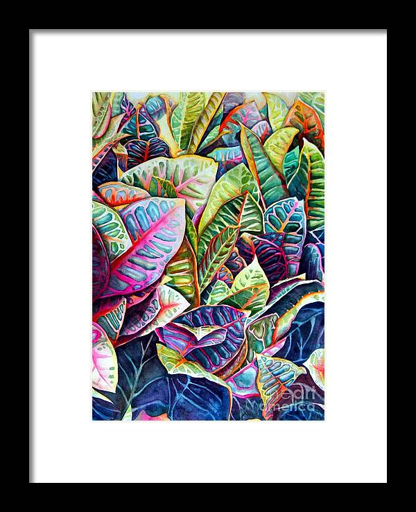 Still Life Framed Print featuring the painting Hawaiian Morning by Gail Zavala