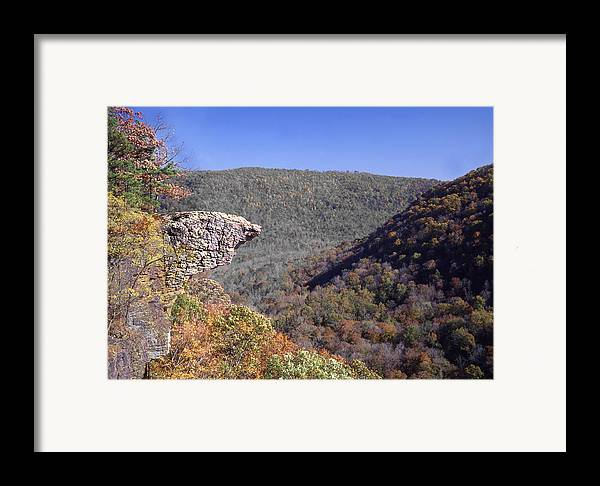 Hawksbill Crag Framed Print featuring the photograph Hawksbill Crag by Curtis J Neeley Jr