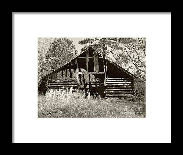 Barn Framed Print featuring the photograph Hay Barn by Judy Waller