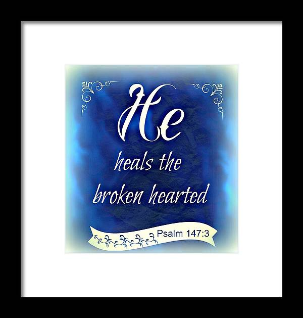 Kathy Bucari Framed Print featuring the photograph He Heals by Kathy Bucari