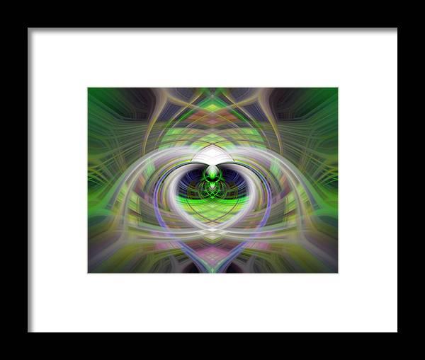 Heart Framed Print featuring the photograph Heart 11 - Yang by Dawn Eshelman