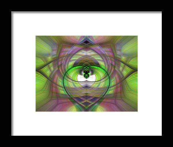 Heart Framed Print featuring the photograph Heart 11 - Yin by Dawn Eshelman